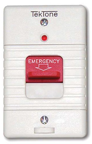 Tek Tone Sf155b Emergency Station Nurse Call System