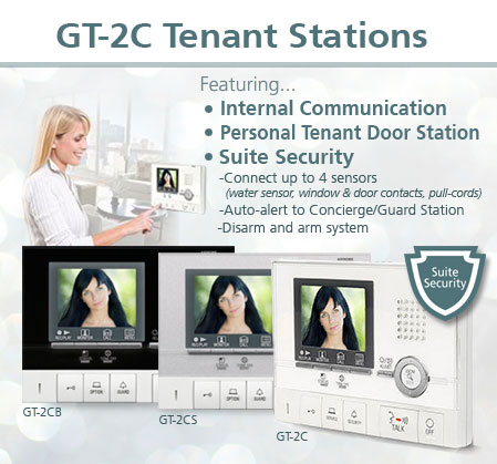 GT Series Video Entry Intercom System