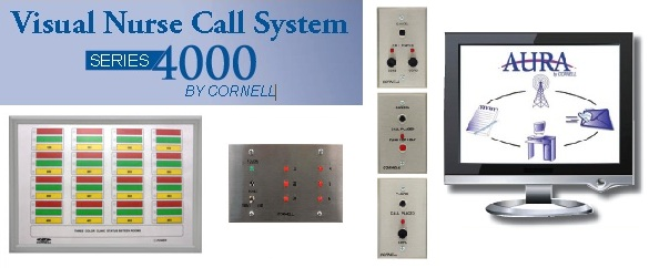 Cornell communications 4000 series visual nurse call system emergency call