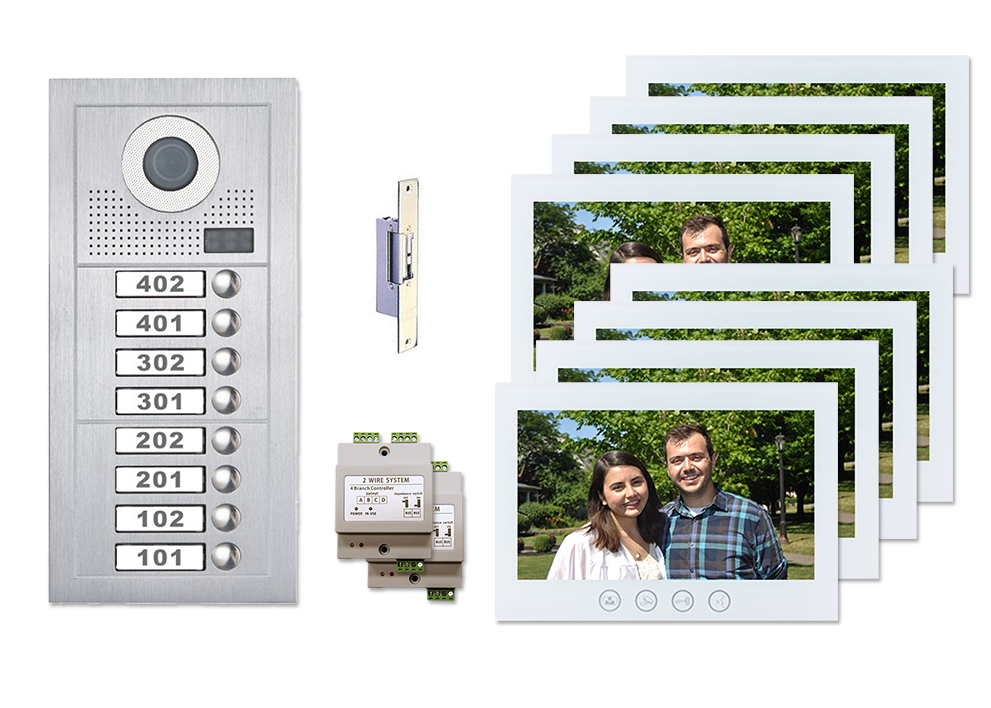 Apartment Intercom Systems Building Entry Systems